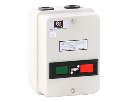 """1-PH DOL – with CPG Contactor & """"Citation"""" 2Pole overload relay"""