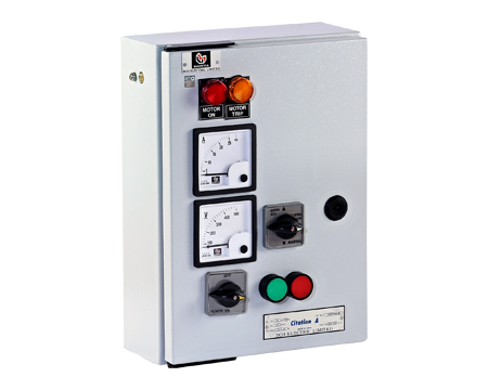 """3-PH Submersible Pump Starter (Citation) – with Citation Contactor & """"Citation"""" overload relay (Economy model)"""