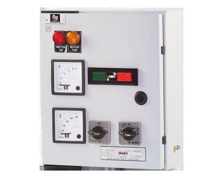 "3-PH Submersible Pump Starter (Shakti) – with Shakti Contactor (20A) & ""Citation"" overload relay"