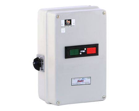 """Auto Start DOL – with Shakti Contactor (20A) & """"Citation"""" overload relay"""