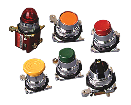 Colourful Push Buttons