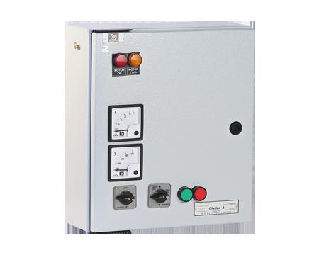 "3-PH Submersible Pump Starter (Shakti) – with Shakti Contactor (16A) & ""Citation"" overload relay"